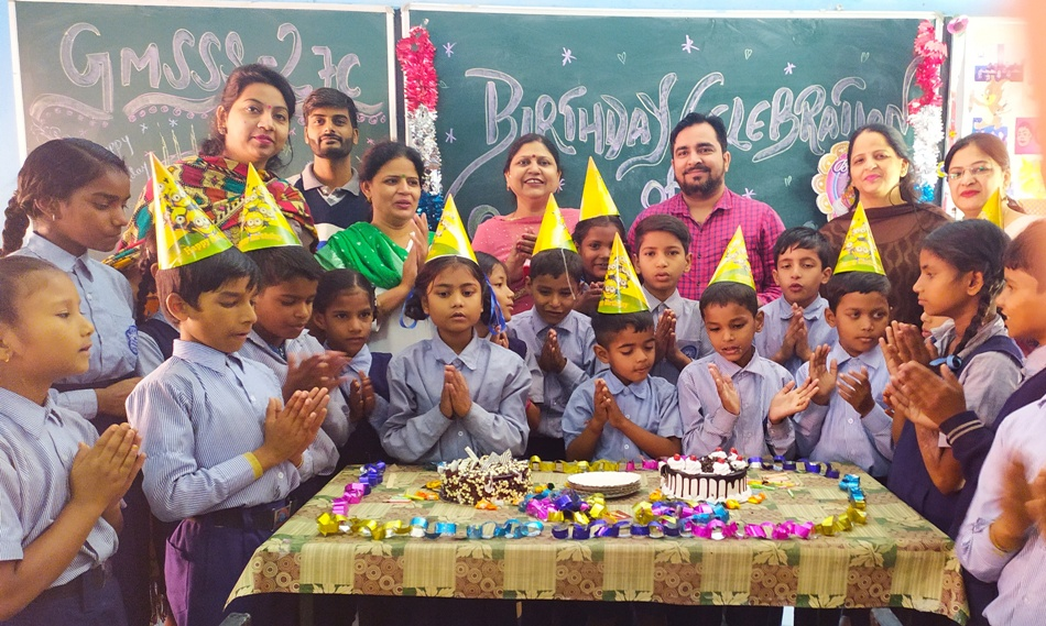 BIRTHDAY CELEBRATION OF STC STUDENTS